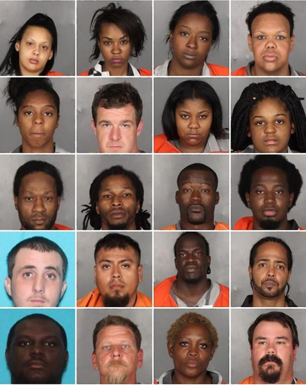 Teachers, Cops,  law students, sports coaches, pimps, prostitutes, johns caught in Texas human trafficking police sting – 61 people arrested