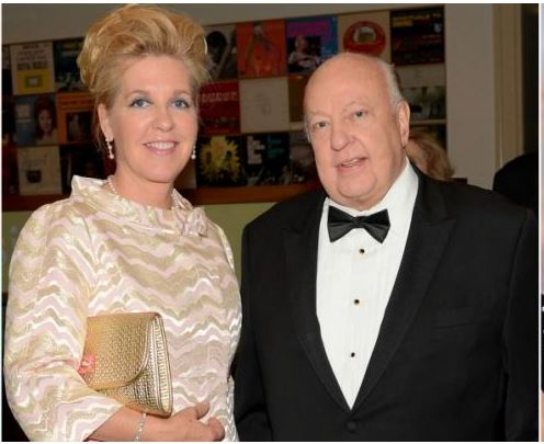 roger ailes and wife1