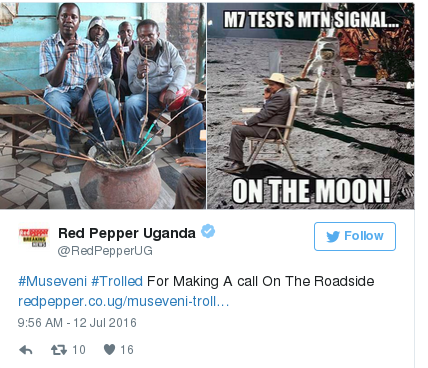 Yoweri Museveni12