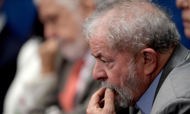Former president Luiz Inácio Lula da Silvaat the impeachement hearing3