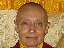 Jetsunma Tenzin Palmo - Buddist Holy father