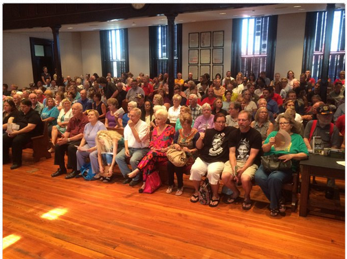 In Newton Ga Over 600 People Pack Town Hall To Protest