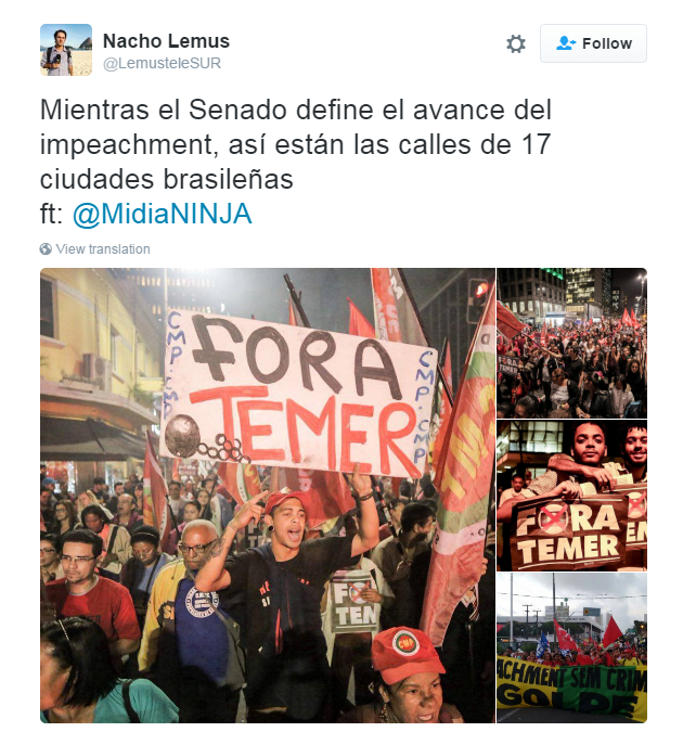protests against Temer1