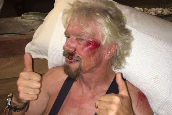 Sir Richard Branson cheats death5