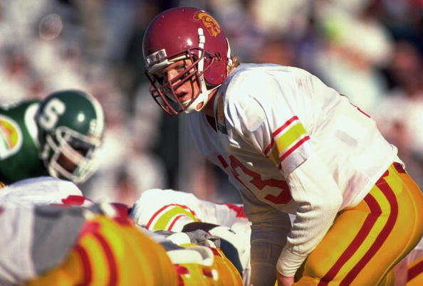University of Southern California QB Todd Marinovich, 1990 Sun Bowl