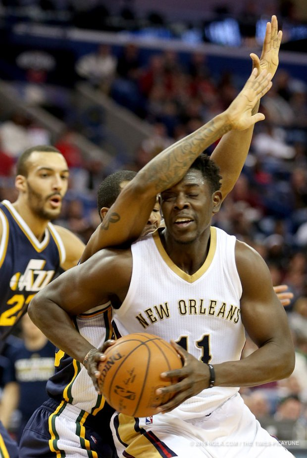 Jrue playing for Pelicans1