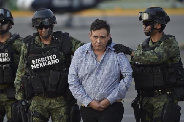"leader of the Zetas drug carteL, Oscar Omar Trevino, aka ""Z-42,"" is taken into custody1.jpg"