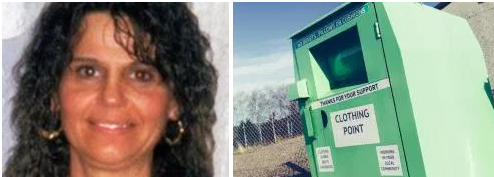 Terrible!!! Judith Permar, died after getting arm stuck in clothing donation bin, was actually stealing from the poor