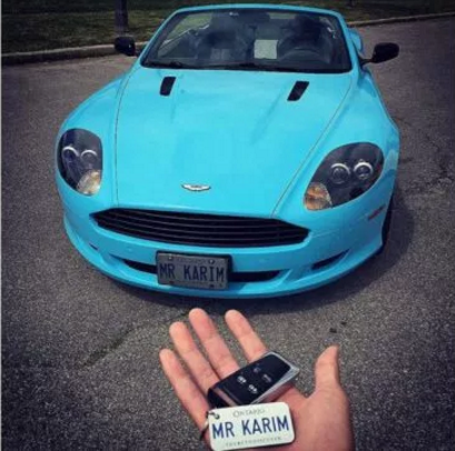 Baratov's Aston Martin with personalized tags.png