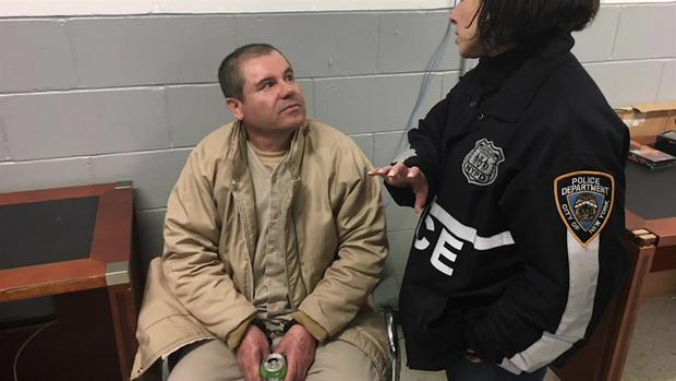 Drug Kingpin 'El Chapo' to Appear in Federal Court in NYC1