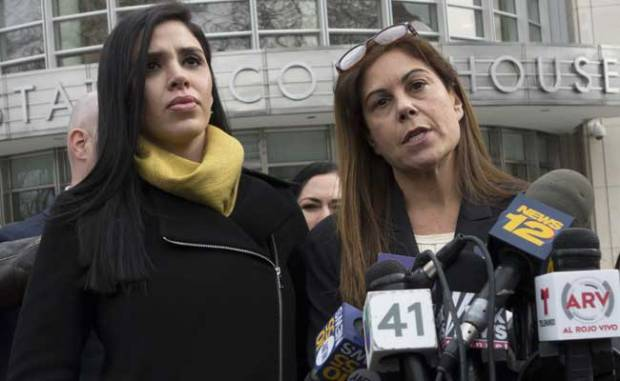 Joaquin 'El Chapo' current wife, Emma Coronel Aispuro,Guzman addresses media2