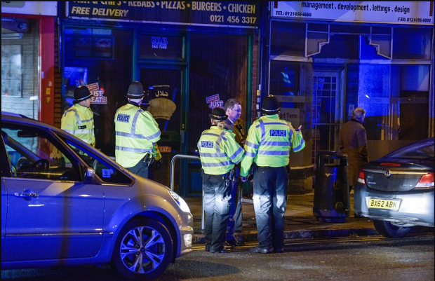 Police raided the residence of Khalid Masood on Hagley Road in Birmingham. Police are on high alert after the terror attack in London on Wednesday1.png