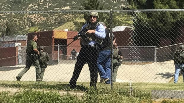 2 dead, two students injured at murder-suicide shooting inside North Park School Elementary School on Monday, in San Bernardino, Calif1