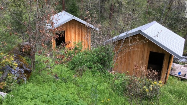 Cummins and Elizabeth stayed in one of these cabins in Cecilville, California, this week, the property's caretaker said..jpg