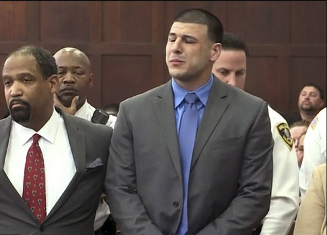 Hernandez was acquitted from murder charges following allegations of killing Daniel de Abreu and Safiro Furtado in a drive-by shooting in July 2012 in Boston's South End after an altercation outside a night club.png