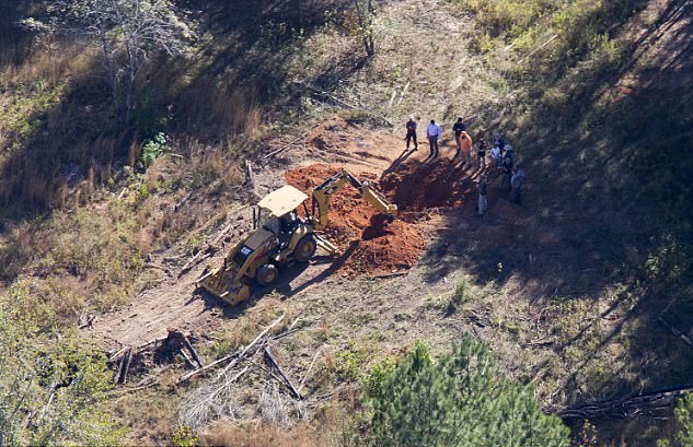 After his arrest, investigators excavate some of his victims, from Kohlhepp's farm, this time a married couple..png
