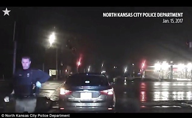 Cop stopped Anderson but simply ordered her to park up and 'collect herself' but had not made Anderson take a sobriety test
