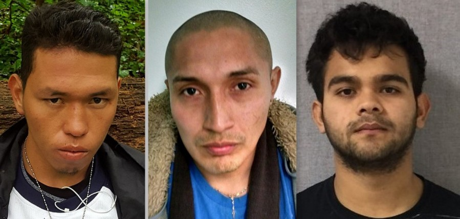 Jose Coreas-Ventura, left, and Josue Cuadra-Quintanilla, right, are accused in the death of Christian Villagran Morales. The Montgomery County case against Oscar Delgado-Perez was dropped..jpg