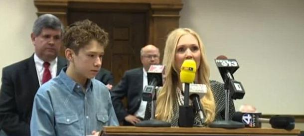 Melissa Pondar Brackman and her son Scott Jr.png