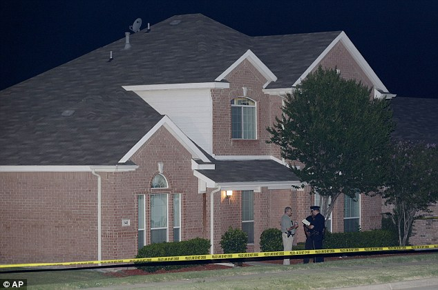 Police found Broser at his ex-wife's home after the shootings .jpg