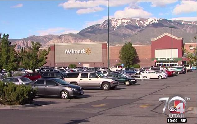 Riverdale Walmart parking lot.png