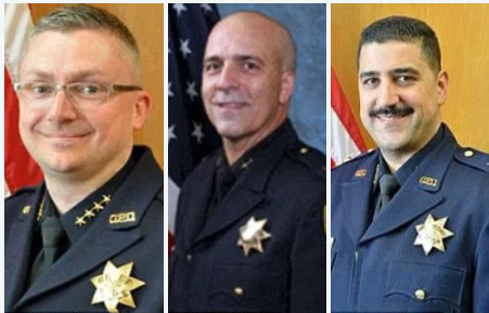 Sean Whent (left), Ben Fairow (center) and Paul Figueroa (right) all quit as Oakland Police chiefs in the space of eight days in the wake of the scandal.png