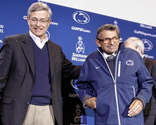 Penn State athletic director Tim Curley and coach Joe Paterno1.jpg