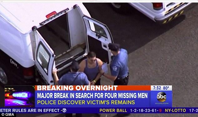Alleged killer Cosmo DiNardo in custody 5