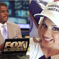Married CNN political analyst Scottie Nell Hughes lobs 'Mazel Tov cocktails' at suspended Fox Business host - Set to sue Charles Payne for sexual harassment after he 'COERCED her into three-year affair'