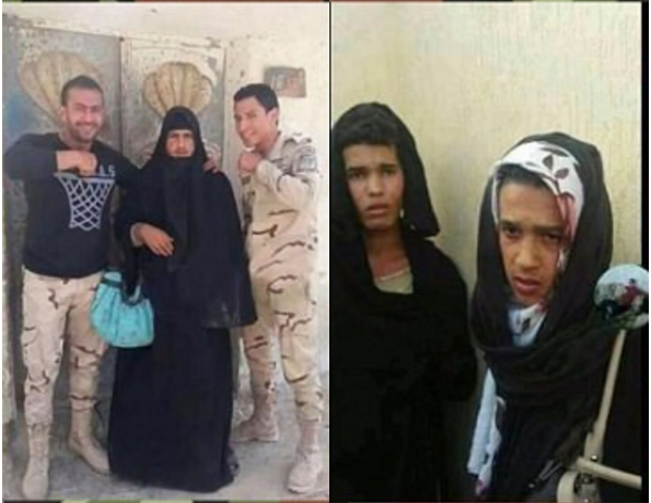 ISIS fighters attempt to flee war zone dressed as women 2.png