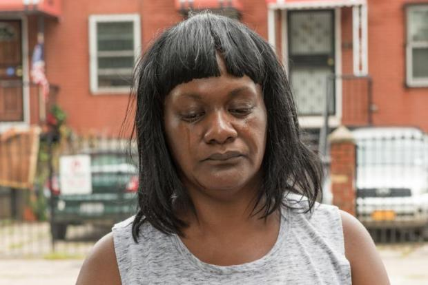 Patricia Scott, Ramel Patterson's mum said her son's girlfriend had struggled with mental illness.jpg