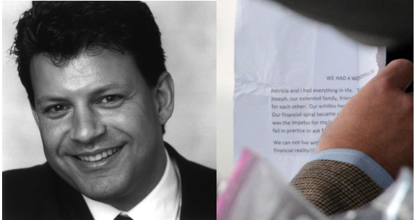Police recovered suicide notes left by Glenn Scarpelli [Left] and his wife Patricia Colant [right] 1.png
