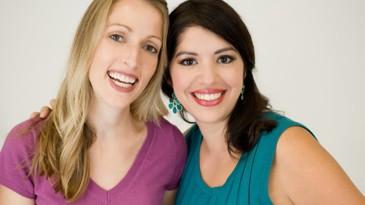 Allison Reyna, left, and Monika Burgett started Cheer Up Buttercups, an advice service 1.jpg