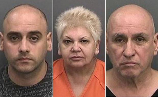 Ariel Fernandez, Maritza Rodon and Ramon Fernandez-Fernandez were arrested for running the operation. .jpg