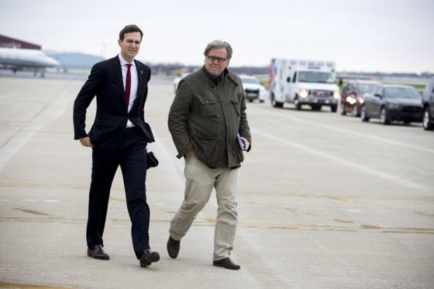 Chief Strategist Stephen Bannon [right], and Senior Advisor Jared Kushner [left] 2.jpg