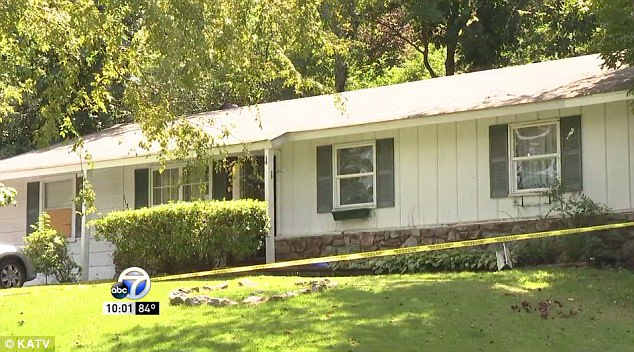 Lindsay discovered the bodies of her husband and two children all in the same bed in their Little Rock, Arkansas, home
