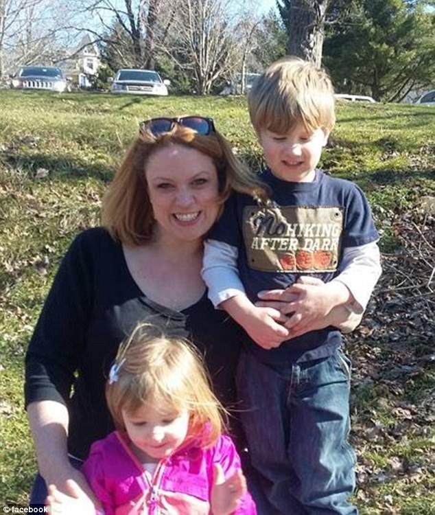 Lindsay Mangan and her children
