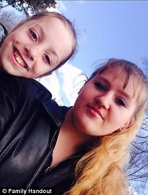 Paige Exline, and her 16-year-old cousin Shakiah Cockerham (pictured together, right) 1