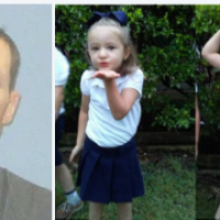Arkansas cops say Robert Mangan killed his daughter, 4, and son, 5, before killing himself, Sunday - his estranged wife discovered tragedy