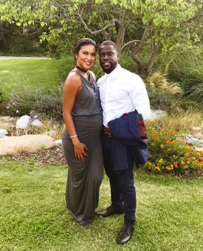 Kevin hart and wife, Emiko Parish 4