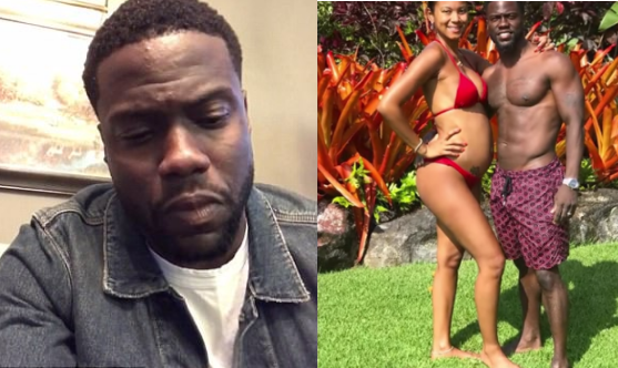 Kevin Hart [left], more or less admitted to some form of cheating on pregnant wife, seen with him [left].png
