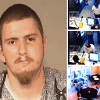 Robber to man who thwarted him 'how dare you stop me robbing Starbucks?' Ryan Michael Flores stabbed 17 times during botched coffee shop burglary plans to sue customer who stopped him