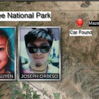 Cops believe Bodies found locked in embrace in Joshua Tree National Park belong to hikers, Rachel Nguyen and Joseph Orbes, missing since July